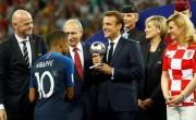 阿联酋领导人祝贺法国总统获得世界杯冠军世界杯预选赛亚洲